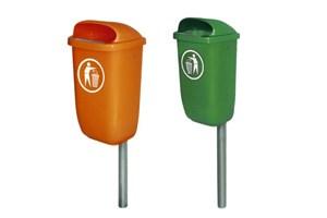 Afvalbakken voor installaties voor buiten