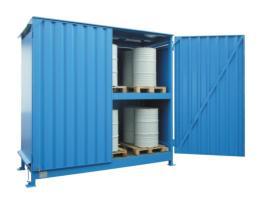 200331 Stellingcontainer V. Gevaarlijke Stoffen,  max. 20x200l vat