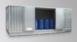 200416 container voor gevaarlijke stoffen,  geïsoleerd