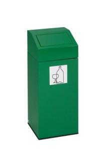 112558 Afvalverzamelaar V. Groen Glas,  1x45l