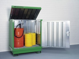 102394 Container Voor Gevaarlijke Stoffen,  v. aquatox./brandbare stoffen
