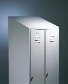 407075 Schuin Opzetdak,  v. garderobekast