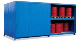 200346 Stellingcontainer V. Gevaarlijke Stoffen,  max. 80x200l vat