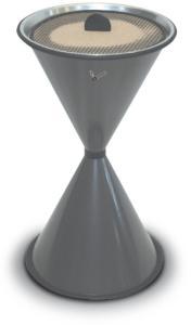 529699 Staande Asbak,  HxØ 770x405mm