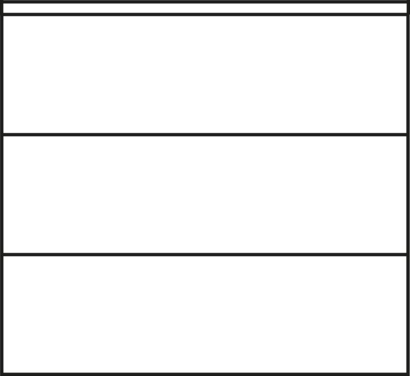992451 kantoor-schuifdeurkast,  HxBxD 1200x1200x400mm 3