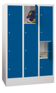 100910 lockerkast,  HxBxD 1518x930x500mm