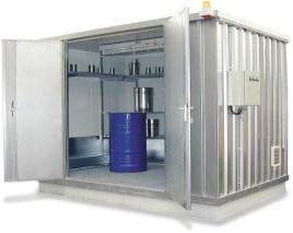 200409 container voor gevaarlijke stoffen,  geïsoleerd