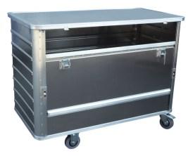524631 Aluminium Bakwagen,  draagverm. 250kg