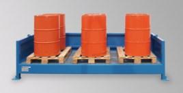 200663 Stellingcontainer V. Gevaarlijke Stoffen,  max. 10x200l vat