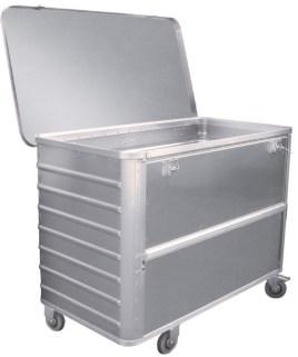 524637 Aluminium Bakwagen,  draagverm. 250kg
