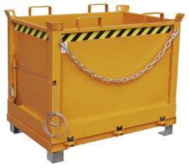 139843 Klapbodemcontainer,  HxLxB 845x840x1245mm