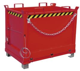 139844 Klapbodemcontainer,  HxLxB 845x840x1245mm