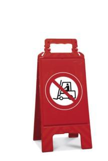 141943 Verbodsbord,  verboden voor heftrucks