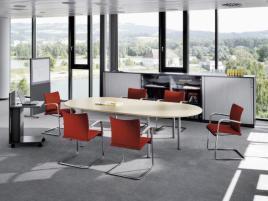 148184 kantoorkast met openslaande deuren,  HxBxD 1155x400x445mm