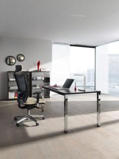 147813 in hoogte verstelbaar bureau,  HxBxD 720-840x2000x800mm