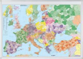 147041 Kaart Van Europa,  HxB 980x1380mm
