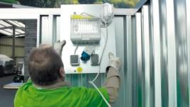 101215 Elektrisch Installatiepakket,  v. materiaalcontainer