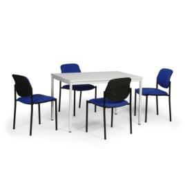 183587 Vergadermeubilair,  4 stoelen