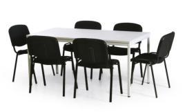 183611 Vergadermeubilair,  6 stoelen