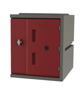 213829 Kunststof Locker,  HxBxD 460x385x470mm
