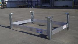 219637 Pallet-Stapelframe,  staal/aluminium