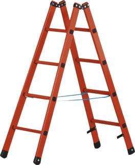 139311 Staande Ladder Met Sporten,  glasvezel