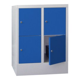 100890 lockerkast,  HxBxD 855x630x500mm