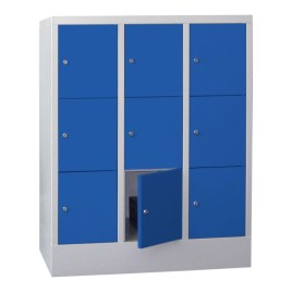 100902 lockerkast,  HxBxD 1187x930x500mm