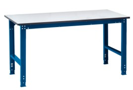 100836 ESD-montagetafel,  HxBxD 770-870x1500x1000mm