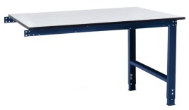 100839 aanbouwelement voor montagetafel,  HxBxD 770-870x1250x600mm