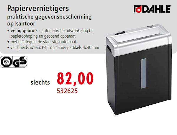 papiervernietiger 532625