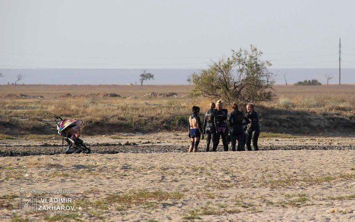 Глязи-мази на озере Ойбурское