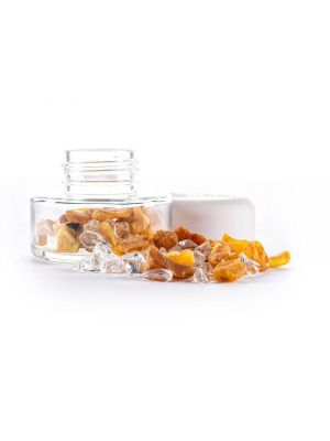 inu crystal jar amber