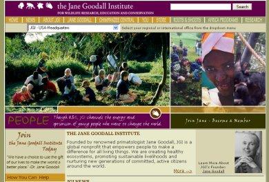 Situs Jane Goodall