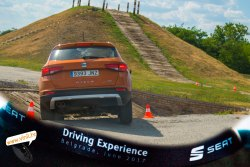 seat driving experience seat ateca fr 190 ks 4drive DSG 7offroad down up