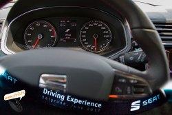 seat driving experience seat ibiza fr inside navigacija