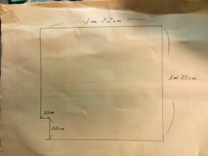手書き図面