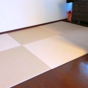 サイズぴったり、ミリ単位で畳を作ります。フローリングの部屋から畳の部屋する意外な方法