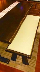 木製ベンチに畳(たたみ)を置いてDIYでオリジナル家具を作る