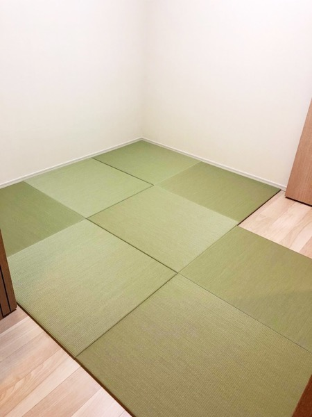 完成した畳の部屋