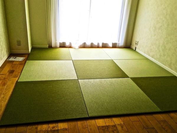 床暖房用置き畳サイズオーダー