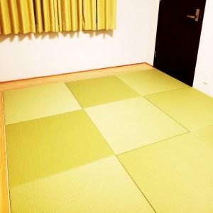 通常の畳(和室)から貴社の琉球畳に変更を検討しております。可能でしょうか。