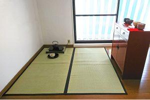 和室がなく、茶道の練習ができませんでしたが、これで自宅で練習することができるようになりました。