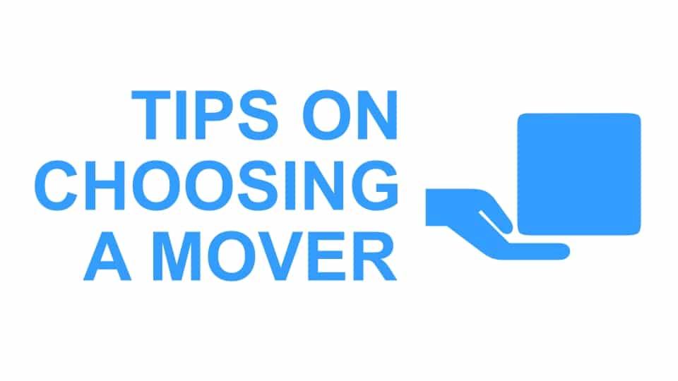Tips Memilih Mover