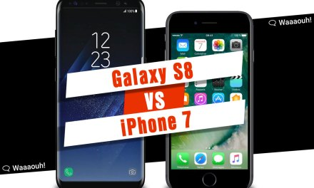 Test : comparatif entre l'iPhone 7 et le Samsung Galaxy S8