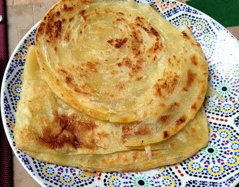 Pancakes marocains (Rghaif/ Meloui) (مسمن)