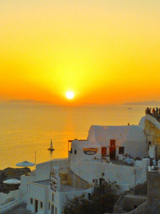 Sunset Oia, Santorini