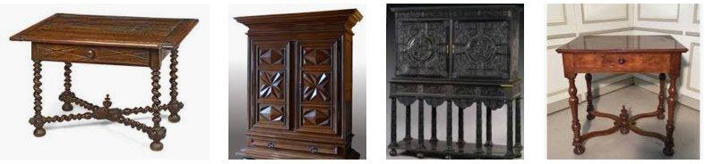 meuble louis xiii mobilier louis xviii