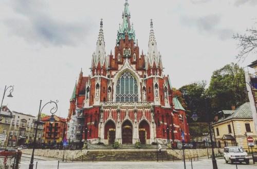 krakau mooie kerk