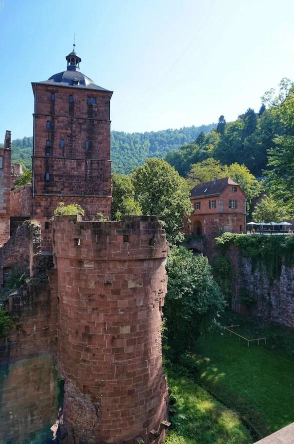 schloss Heidelberg burcht
